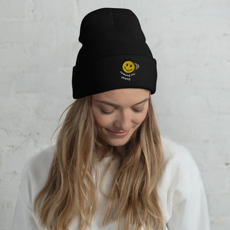 Coming on Stong Cuffed Beanie