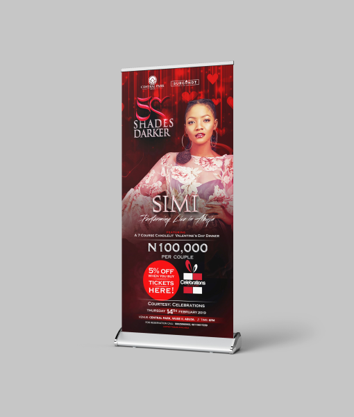 Slim Roll up Banners and Stand