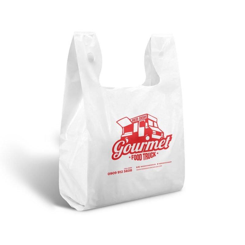 T-shirt plastic bag nylon bags