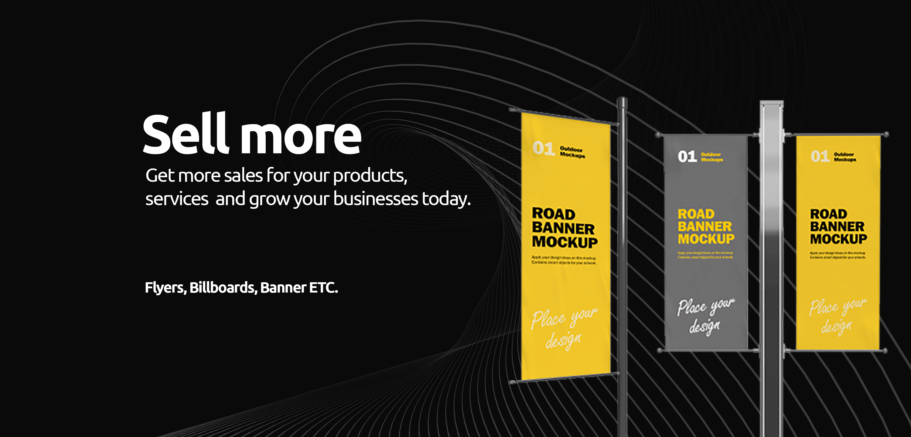 Get more sales for your products,services and grow your businesses today.