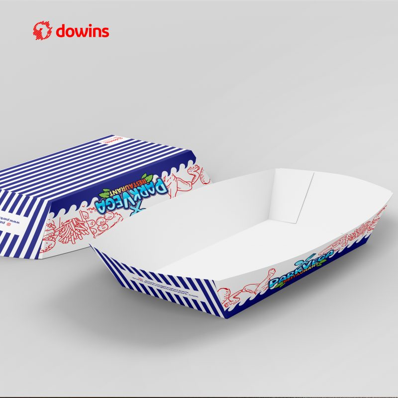 Disposable Food Paper Boat Tray
